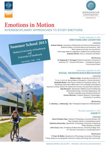 Summer schools from Eurolife institutions (2014-2015)