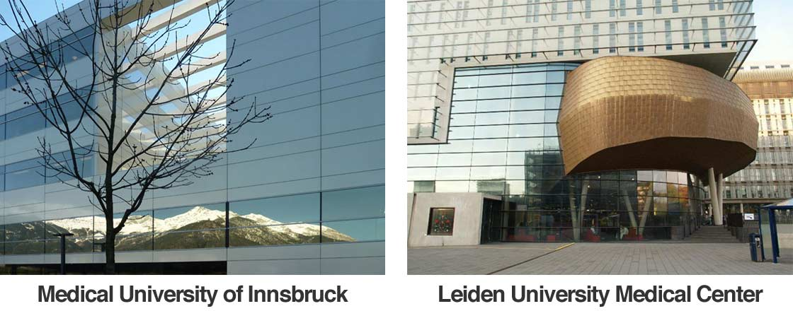 Medical University of Innsbruck + Leiden University Medical Center